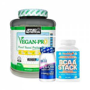 vegan performance pack pacchetto vegano per l'energia e la massa muscolare