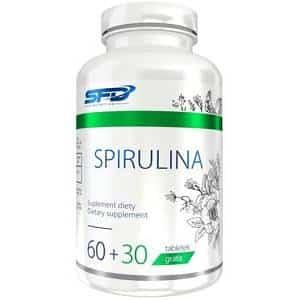 alga spirulina 90 compresse antiossidante e pèroteico vegetale della sfd nutrition