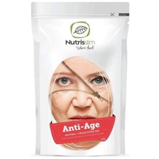 anti age vegan super mix integratore anti eta con azione antiossidante