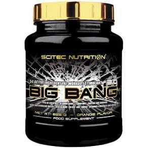 big bang 3.0 pre workout dimagrante scitec nutritiohn
