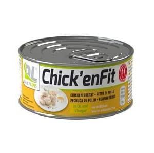 chick'enfit filetti di pollo scelti e proteici a basso contenuto in zuccheri e grassi