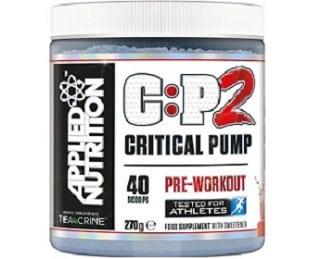 cp2 critical pump pre allenamento applied nutrition agisce sul pompaggio e sull'energia