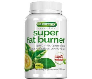 super fat burner quamtrax dimagrante metabolico e inibitore della lipogenesi contiene garcinia cambogia