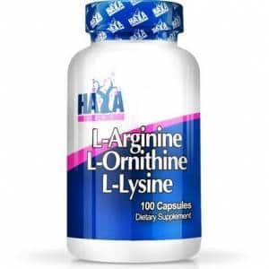 ariginina ornitina lisina gh booster integratore anabolizzante naturale