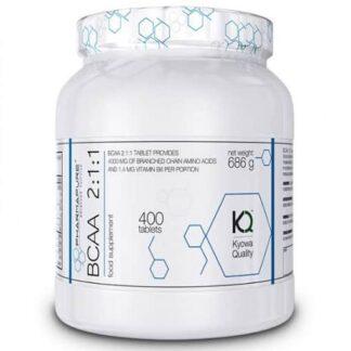 bcaa 2 1 1 400cpr kyowa aminoacidi a catena ramificata