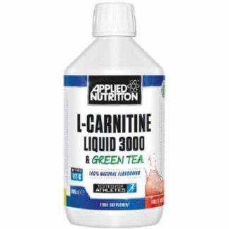 l-carnitine liquid con estratto di te verde, dimagrante e antiossidante