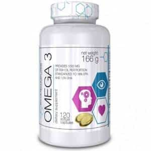mega 3 epa & dha acidi grassi da olio di pesce, antiossidanti e energetici e dimagranti