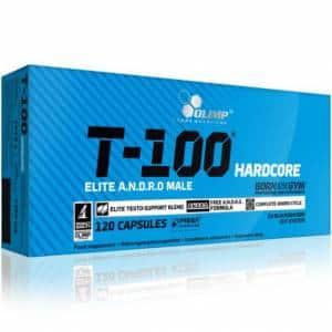 t-100 hardcore andro male olim integratore stimolante del testosterone ottimo per la massa e la libido