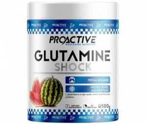 glutamine shock powder integratore di l-glutammina pura ideale per il recupero plastico energetico dopo allenamento