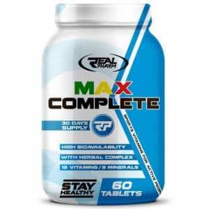 max complete multivitamin integratore di vitamine e minerali arricchito di composti dimagranti e drenanti