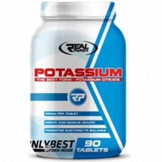 potassio citrato integratore per la contrazione muscolare e l'idratazione dei tessuti
