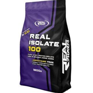 real whey isolate integratore proteico a base di sieroproteine del latte, senza grassi ne zuccheri ne aspartame, ottimo dopo i pesi
