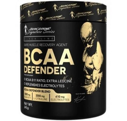 bcaa defender 245g kevin levrone series