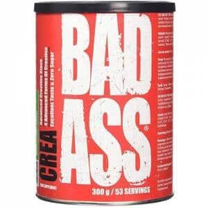 crea bad ass powder creatina in quattro forme per migliorare lo stoccaggio ed ottenere più energia