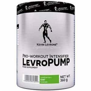 levropump intensifier pre allenamento a base di aminoacidi precursori di ossido nitrico, carnosina e catecolamine