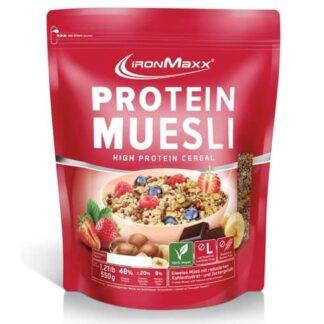 mesli proteico vegan 2kg ironmax alimento ipocalorico a base di soia