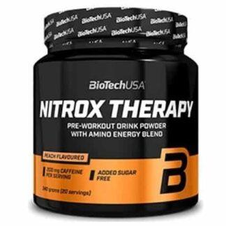 nitrox therapy 340g biotech usa integratore per intensificare la prestazione