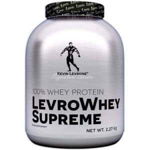 levrowhey supreme proteina concentrata dal siero di latte a veloce rilascio ematico