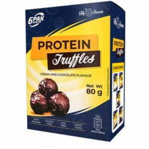 protein truffles sono tartufi proteici deliziosi e nutrienti ideali come snack sostitutivo