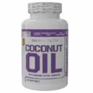 coconut oil 1000 olio di cocco in capsule molli, indicato come energetico, dimagrante e salutistico contiene mct