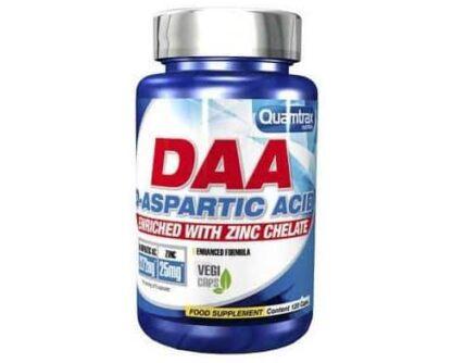 daa aspartic acid plus zinco integratore anabolico naturale per migliorare forza fisica e massa muscolare