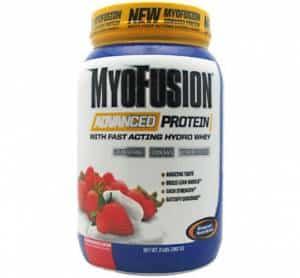 myofusion advanced protein proteina in polvere da 5 fonti ideale per accrescere la massa