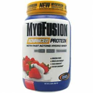 myofusion advanced protein proteina in polvere da 5 fonti ideale per accrescere la massa