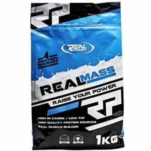 real mass gainer integratore per aumentare la massa da utilizzare dopo il workout con i pesi