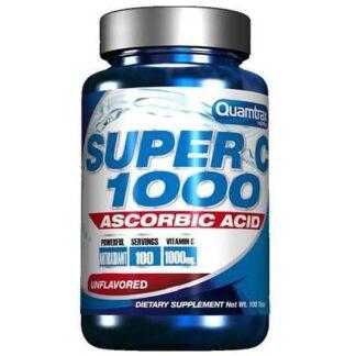 super c-1000 vitamina c ad alto dosaggio ottima come antiossidante, antiage e immunostimolante