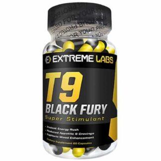 t9 black fury pre allenamento dimagrante a base di stimolanti nervosi agisce sul metabolismo e diminuisce la fame