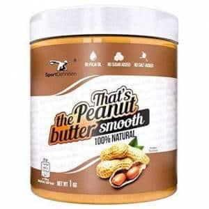 thats the peanut butter burro di arachidi naturale cremoso e croccante ricco di proteine ed energia