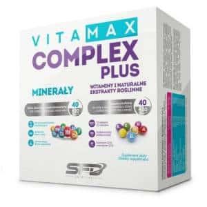 vitamax complex plus multivitaminico e minerale arricchito di estratti vegetali, coenzima q10 e acido alfa lipoico, ottimo energetico e antiossidante
