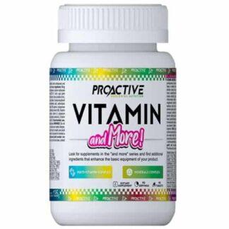 vitamin & more formula multivitaminco minerale arricchito di antiossidanti, dimagranti e salutistici anche per la prostata