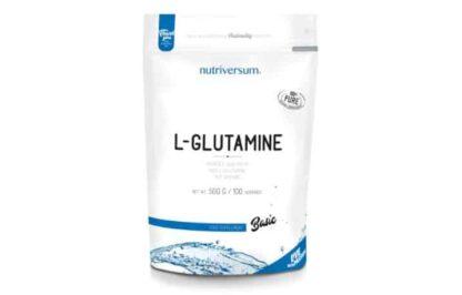 l-glutamine basic pure powder integratore di glutammina pura per migliorare il recupero e la prestanza fisica