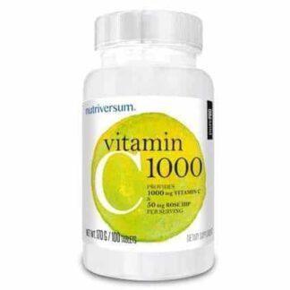 vitamin c1000 pure pro integratore di vitamina c ad alto dosaggio, antiossidante e immuno stimolante