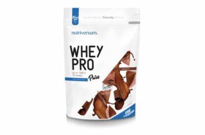 wheypro pure 80 proteina in polvere a rilascio veloce ottenuta dal siero di latte con basso contenuto in grassi e zuccheri