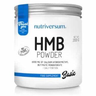 hmb powder 6000 integratore di beta idrossi metil butirrato potente anabolico e antiproteolitico ottimo per la massa
