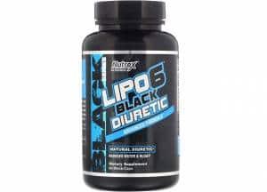 lipo-6 black diuretic advanced formula integratore drenante a base di estratti vegetali e minerali elettroliti