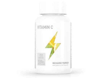 vitamin c1000 integratore di acido ascorbico ad alto dosaggio ideale come antiossidante e anti età