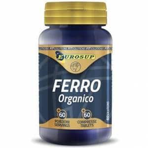 ferro organico un minerale che migliora l'ossigenazione dei muscoli, aiuta il sistema immunitario e la funzionalità epatica