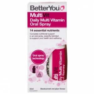 multivit daily oral spray integratore multivitaminico a rapido rilascio ottimo per salute e prestanza fisica