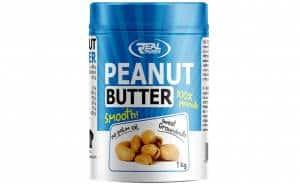 real peanut butter burro di arachidi tostate naturale senza edulcoranti ne olio di palma, ricco di proteine nobili ed energia