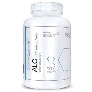 alc 1000 pharmapure integratore dimagrante e antiossidante a base di acetil carnitina, veicola il grasso nei mitocondri
