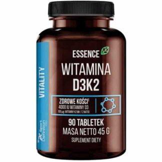 essence vita d3 k2 integratore di colecalciferolo arricchito di menachinone, ideale per la densità delle ossa