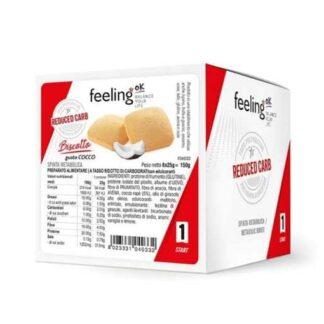 biscotto proteico low carb snack ricco di proteine con solo 0,25g di zuccheri fragrante e sfizioso per colazione