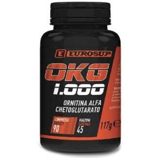 orniti9na okg 1000 integratore a base di ornitina alfa cheto glutarato, ottima come ergogenico