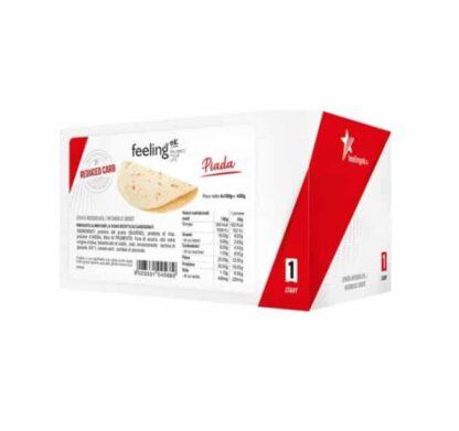 piadina proteica vegana è una piada proteica con solo 1 grammo di zuccheri ottima al posto del pane nella dieta vegana