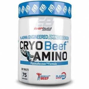 cryo beef amino integratore di polipetidi da carne di manzo, ottimo post allenamento per migliorare il recupero