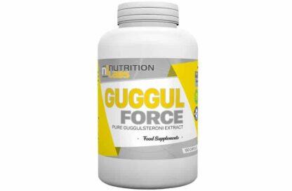 guggul force 250 integratore vegano a base di guggulsteroni, ottimo come dimagrante di spinta tiroidea, ottimizza il rapporto tra t3 e t4