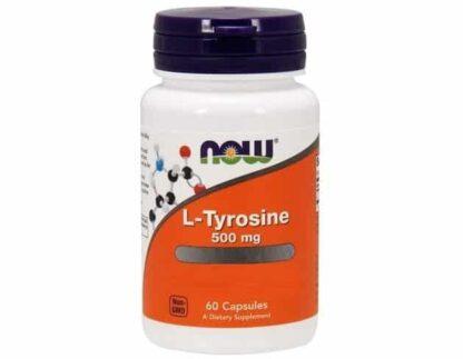 l-tirosina 500mg integratore dimagranet a abse di tirosina libera ottimo da abbinare alla dieta low carb
